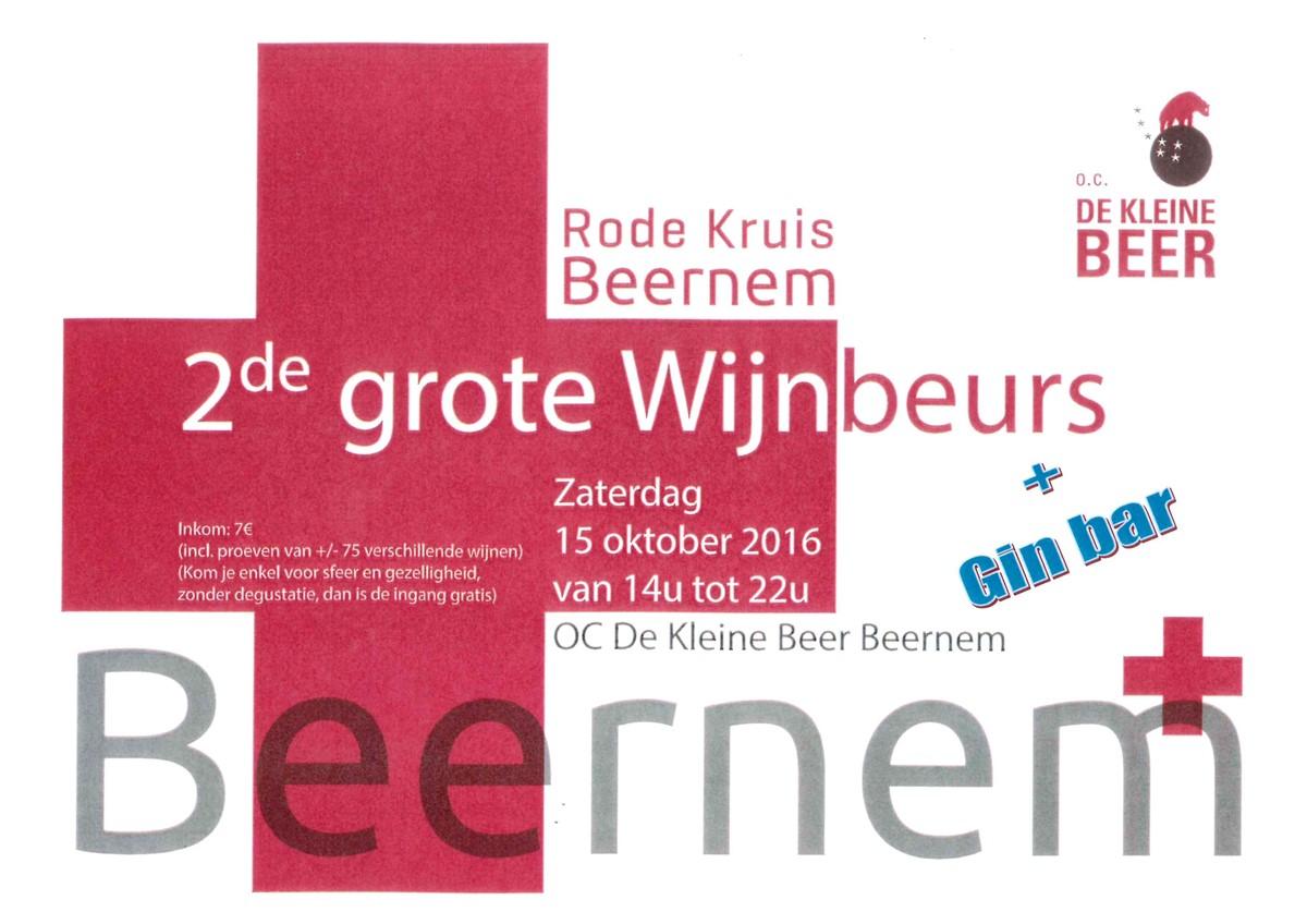 2e Grote Wijnbeurs Rode Kruis Beernem