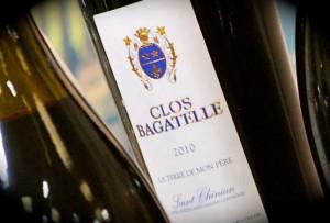 Clos bagatelle wijn